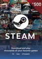 R500 Steam Wallet Code